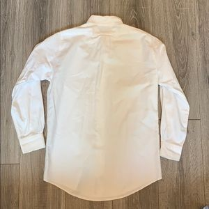 Brooks Brothers Shirts - Brooks Brothers Extra Slim Fit White Polo Shirt